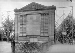 Palais du Louvre et jardin des Tuileries - Façade ouest