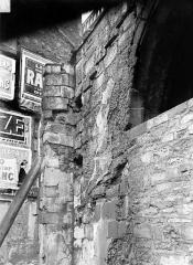 Ancienne abbaye Saint-Martin-des-Champs, actuellement Conservatoire National des Arts et Métiers et Musée National des Techniques - Eglise : Chapelle à gauche du clocher, contrefort gauche
