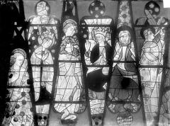 Cathédrale Saint-Julien - Vitrail du transept nord