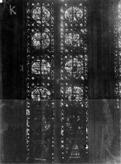 Cathédrale Notre-Dame - Chapelles du choeur, vitrail K