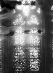 Cathédrale Notre-Dame - Chapelles du choeur, vitrail L