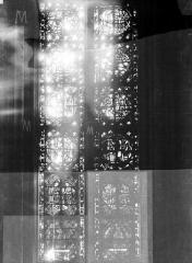 Cathédrale Notre-Dame - Chapelles du choeur, vitrail M