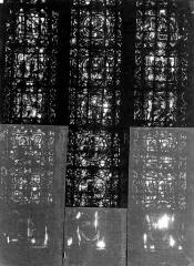 Cathédrale Notre-Dame - Chapelles du choeur, vitrail R