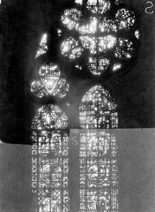 Cathédrale Notre-Dame - Chapelles du choeur, vitrail S