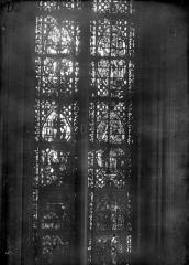 Cathédrale Notre-Dame - Chapelles du choeur, vitrail D'