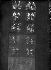 Cathédrale Notre-Dame - Chapelles du choeur, vitrail F'