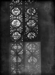 Cathédrale Notre-Dame - Chapelles du choeur, vitrail J'