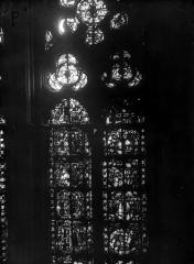 Cathédrale Notre-Dame - Chapelles du choeur, vitrail P'