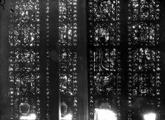 Cathédrale Notre-Dame - Chapelles du choeur, vitrail Q'