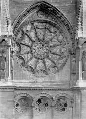 Cathédrale Notre-Dame - Transept nord : Rose