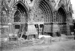 Cathédrale Notre-Dame - Portails de la façade ouest