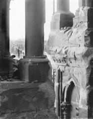 Cathédrale Notre-Dame - Galerie supérieure (supposé) : Vue intérieure