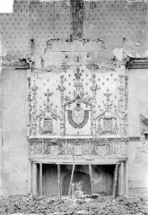 Ancien archevêché, actuellement Palais du Tau - Salle du Tau : Cheminée, côté nord