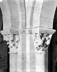 Eglise Saint-Andoche - Chapiteaux