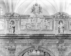 Eglise (collégiale) Saint-Pierre et Saint-Paul - Jubé : Partie supérieure