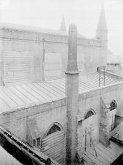 Eglise Notre-Dame - Chevet, côté sud : Toitures