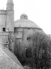 Eglise Notre-Dame - Chevet : Coupole de la chapelle de la Vierge, côté sud