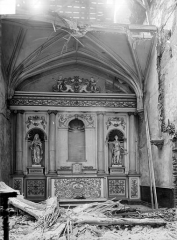 Eglise Notre-Dame - Vue intérieure du transept