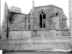 Eglise - Abside et transept sud