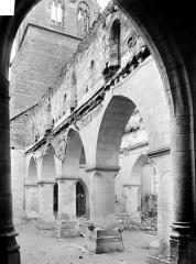 Eglise - Vue intérieure du bas-côté sud, vers l'ouest