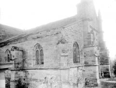 Eglise Saint-Rémy - Angle nord-ouest