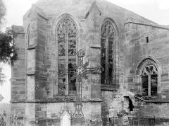 Eglise Saint-Rémy - Abside, côté nord