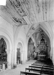 Eglise Saint-Symphorien - Vue intérieure du bas-côté sud, vers l'est