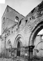 Eglise - Vue intérieure du bas-côté sud