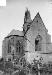 Eglise de l'Assomption - Abside et transept nord, côté nord