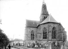 Eglise de l'Assomption - Abside et transept sud, côté est