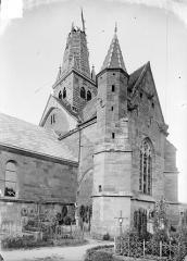 Eglise de l'Assomption - Ensemble sud-ouest