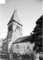 Eglise de Faremont - Façade nord et clocher