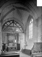Eglise de Faremont - Vue intérieure du choeur