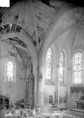 Eglise de Chatel-Raould - Vue intérieure du choeur
