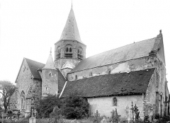 Eglise Saint-Alpin - Ensemble nord-ouest