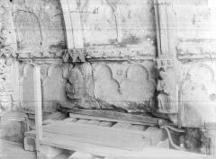 Cathédrale Notre-Dame - Porche nord : Détail des voussures