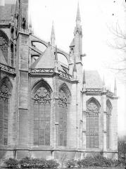 Eglise Saint-Maclou - Abside, côté sud
