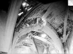 Eglise de Chatel-Raould - Voûtes de bois
