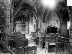 Eglise - Vue intérieure de la nef