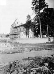 Eglise - Vue générale prise du nord-ouest