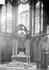 Cathédrale Notre-Dame - Vue intérieure de la chapelle absidale