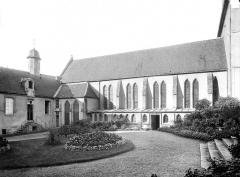 Ancien séminaire - Chapelle : Façade sud sur le jardin