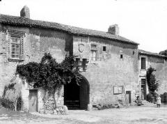 Ancien logis abbatial - Façade