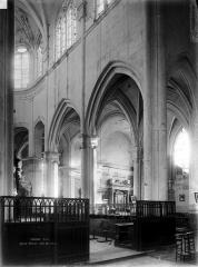 Eglise Saint-Jacques-le-Majeur et Saint-Christophe - Vue intérieure du choeur, côté sud