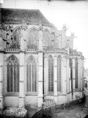 Cathédrale Saint-Etienne - Abside, côté sud