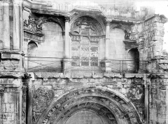 Eglise Notre-Dame - Façade ouest : Fenêtre