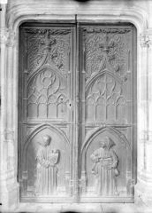 Ancienne chartreuse Saint-Sauveur - Porte de l'église