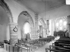 Eglise - Vue intérieure de la nef vers le nord-est