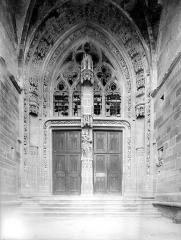 Eglise de Rembercourt - Portail de la façade ouest