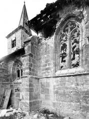 Eglise Saint-Rémi - Façade sud : Transept